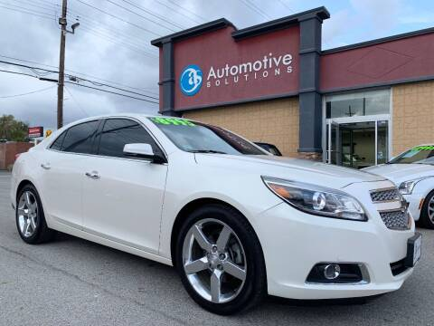 2013 Chevrolet Malibu for sale at Automotive Solutions in Louisville KY