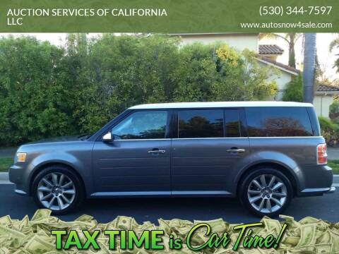 2010 Ford Flex for sale at AUCTION SERVICES OF CALIFORNIA in El Dorado CA