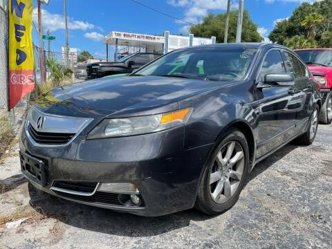 2012 Acura TL for sale at Always Approved Autos in Tampa FL