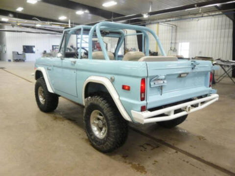 1975 Ford Bronco for sale at Hines Auto Sales in Marlette MI