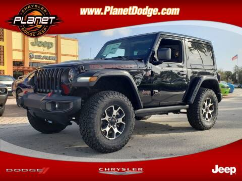 2020 Jeep Wrangler for sale at PLANET DODGE CHRYSLER JEEP in Miami FL
