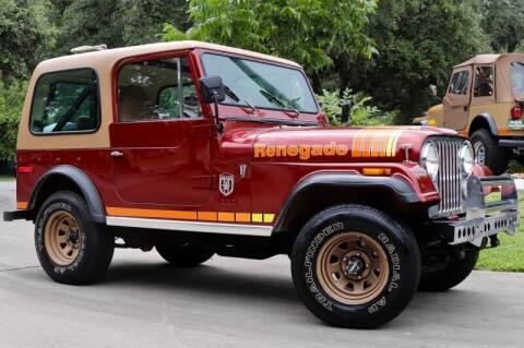 1978 Jeep CJ-7 for sale at SELECT JEEPS INC in League City TX