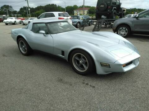 1982 Chevrolet Corvette for sale at Kelly & Kelly Supermarket of Cars in Fayetteville NC