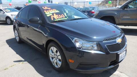 2014 Chevrolet Cruze for sale at Luxor Motors Inc in Pacoima CA