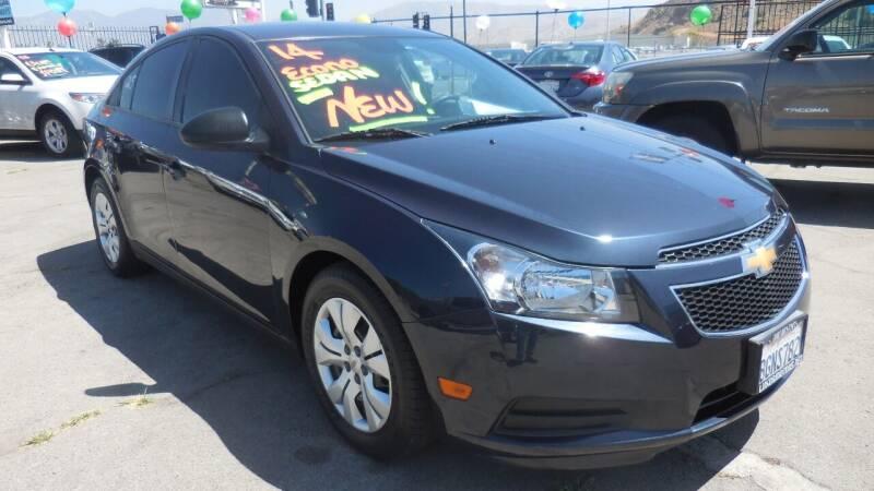 2014 Chevrolet Cruze for sale at Luxor Motors Inc in Pacoima CA