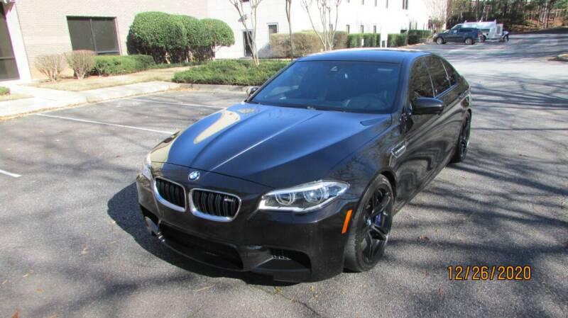 2016 BMW M5 for sale at German Auto World LLC in Alpharetta GA