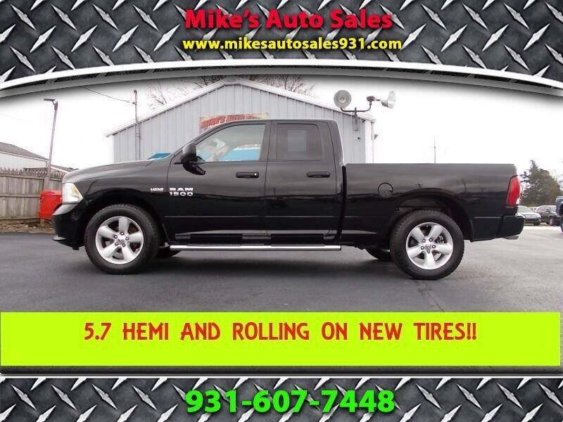 2013 RAM Ram Pickup 1500 for sale at Mike's Auto Sales in Shelbyville TN