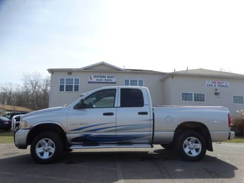 2002 Dodge Ram Pickup 1500 for sale at SOUTHERN SELECT AUTO SALES in Medina OH