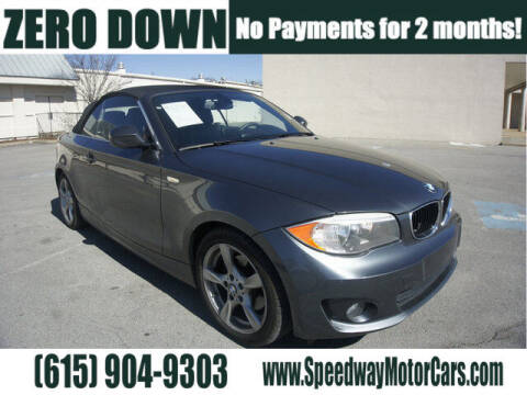 2013 BMW 1 Series for sale at Speedway Motors in Murfreesboro TN