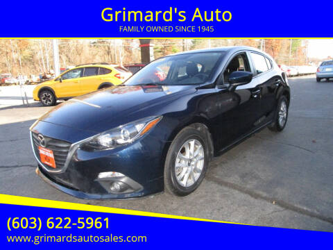 2016 Mazda MAZDA3 for sale at Grimard's Auto in Hooksett, NH