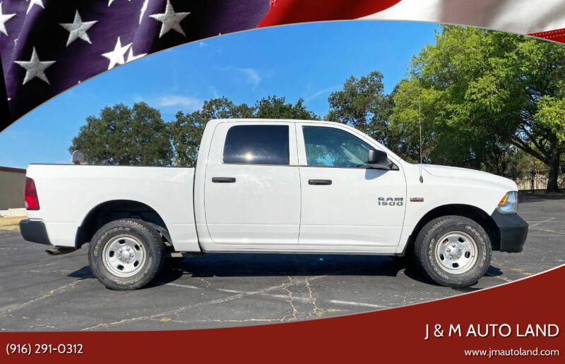 2017 RAM Ram Pickup 1500 for sale at J & M Auto Land in Sacramento CA