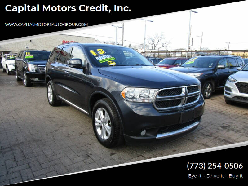 2013 Dodge Durango for sale at Capital Motors Credit, Inc. in Chicago IL