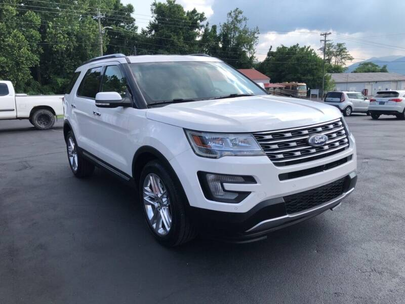 2017 Ford Explorer for sale at KNK AUTOMOTIVE in Erwin TN