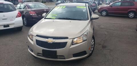 2011 Chevrolet Cruze for sale at TC Auto Repair and Sales Inc in Abington MA