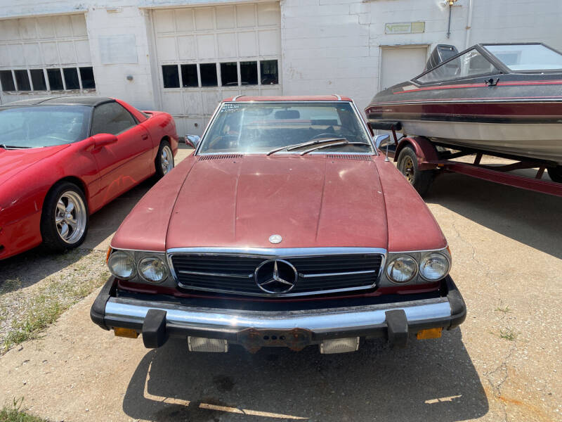 1973 Mercedes-Benz 450 SL for sale at Car Solutions llc in Augusta KS