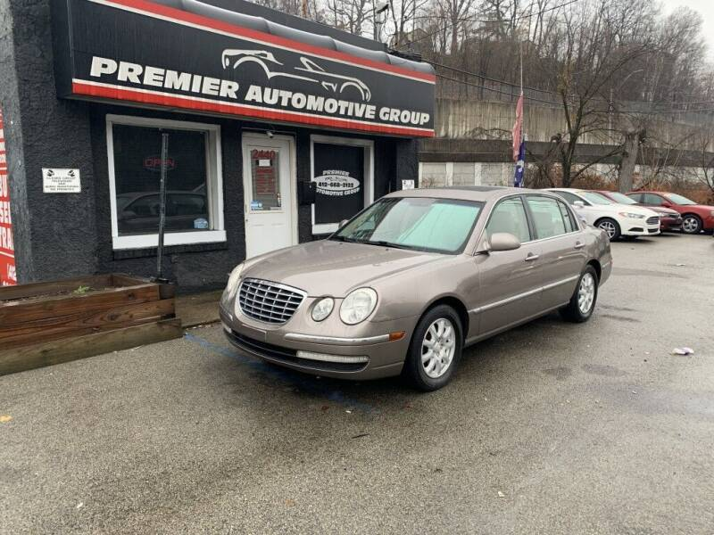 2008 Kia Amanti for sale at Premier Automotive Group in Pittsburgh PA