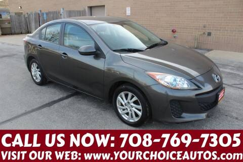 2012 Mazda MAZDA3 for sale at Your Choice Autos in Posen IL
