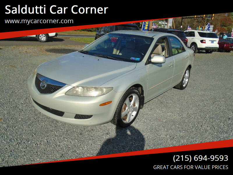 2005 Mazda MAZDA6 for sale at Saldutti Car Corner in Gilbertsville PA