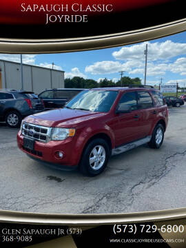 2010 Ford Escape for sale at Sapaugh Classic Joyride in Salem MO