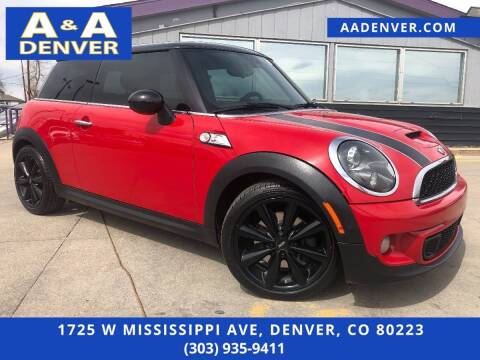 2013 MINI Hardtop for sale at A & A AUTO LLC in Denver CO