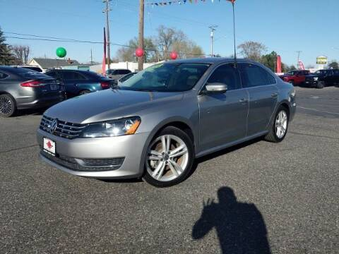 2014 Volkswagen Passat for sale at Alvarez Auto Sales in Kennewick WA