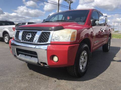 2005 Nissan Titan for sale at Instant Auto Sales in Chillicothe OH