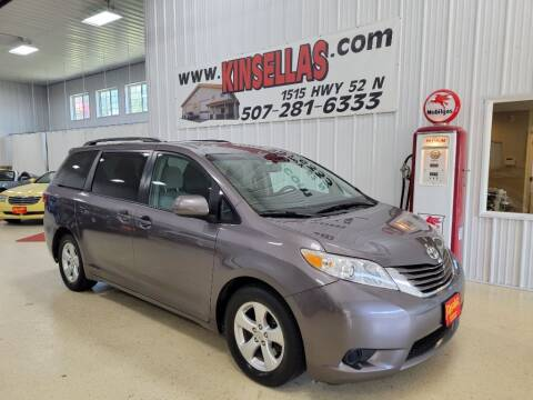 2015 Toyota Sienna for sale at Kinsellas Auto Sales in Rochester MN