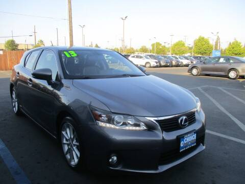 2013 Lexus CT 200h for sale at Choice Auto & Truck in Sacramento CA