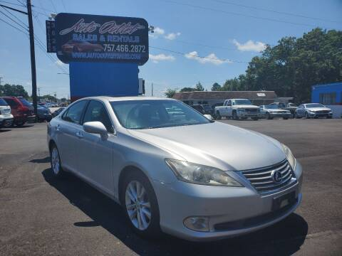 2011 Lexus ES 350 for sale at Auto Outlet Sales and Rentals in Norfolk VA