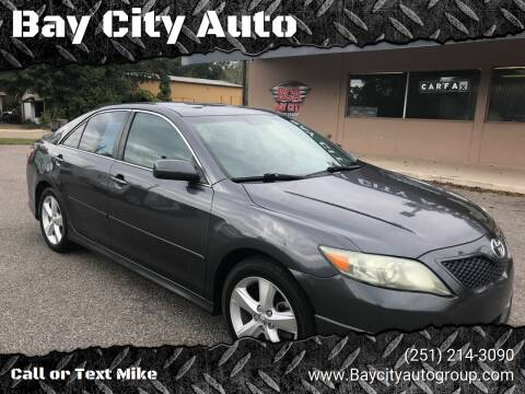 2010 Toyota Camry for sale at Bay City Auto's in Mobile AL