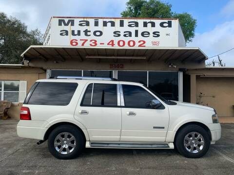 2007 Ford Expedition for sale at Mainland Auto Sales Inc in Daytona Beach FL
