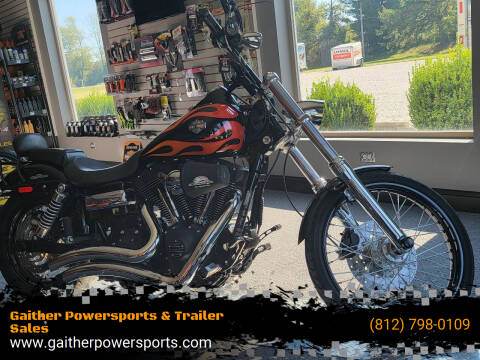 2010 Harley-Davidson FXDWG-103 for sale at Gaither Powersports & Trailer Sales in Linton IN