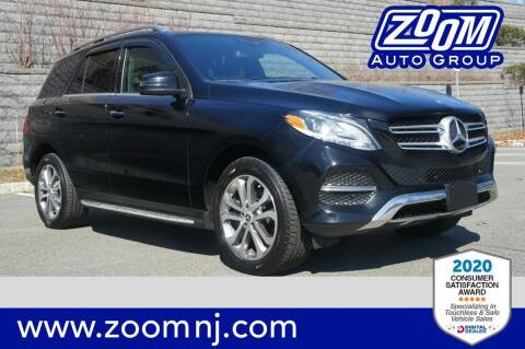 2016 Mercedes-Benz GLE for sale at Zoom Auto Group in Parsippany NJ