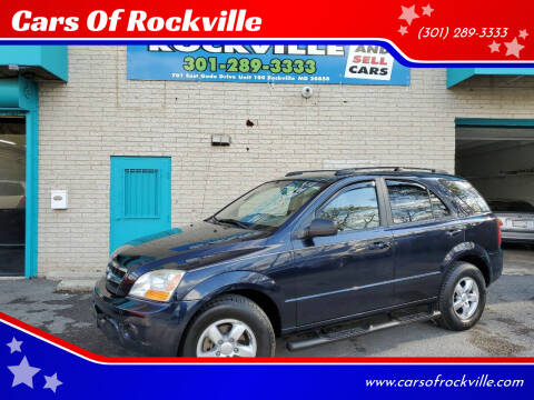 2009 Kia Sorento for sale at Cars Of Rockville in Rockville MD
