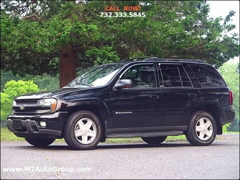 2002 Chevrolet TrailBlazer for sale at M2 Auto Group Llc. EAST BRUNSWICK in East Brunswick NJ