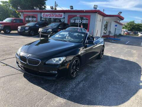2013 BMW 6 Series for sale at CARSTRADA in Hollywood FL