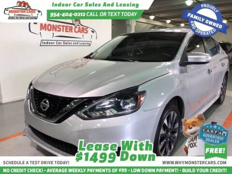 2016 Nissan Sentra for sale at Monster Cars LLC - Lease Vehicles in Pompano Beach FL