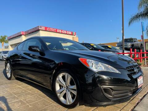 2012 Hyundai Genesis Coupe for sale at CARCO SALES & FINANCE in Chula Vista CA