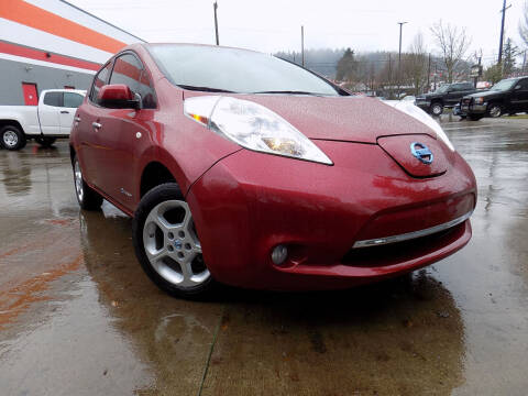 2012 Nissan LEAF for sale at A1 Group Inc in Portland OR