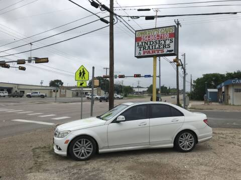 2009 Mercedes-Benz C-Class for sale at Dwight's Cars in Gatesville TX