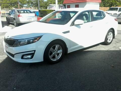 2014 Kia Optima for sale at HARMAN MOTORS INC in Salisbury MD