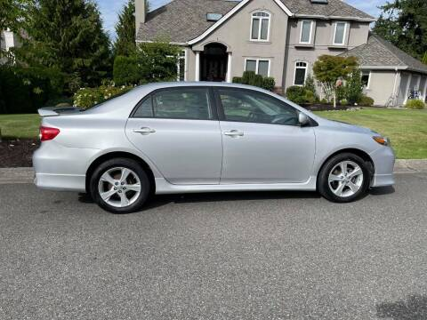 2012 Toyota Corolla for sale at SNS AUTO SALES in Seattle WA