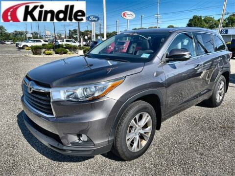 2015 Toyota Highlander for sale at Kindle Auto Plaza in Cape May Court House NJ
