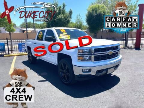 2014 Chevrolet Silverado 1500 for sale at DUKE CITY AUTO SALES in Albuquerque NM
