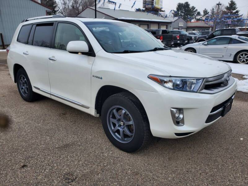 2013 Toyota Highlander Hybrid for sale at Extreme Auto Sales LLC. in Wautoma WI