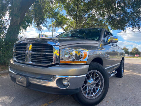 2006 Dodge Ram Pickup 1500 for sale at LATINOS MOTOR OF ORLANDO in Orlando FL
