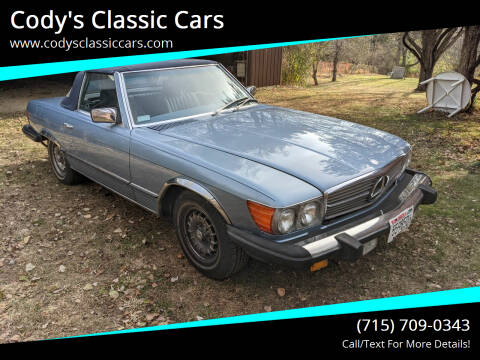 1985 Mercedes-Benz 380-Class for sale at Cody's Classic Cars in Stanley WI