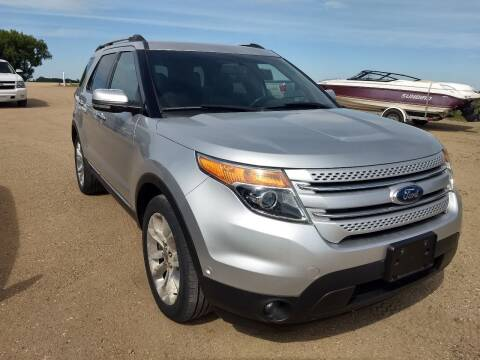2012 Ford Explorer for sale at RDJ Auto Sales in Kerkhoven MN