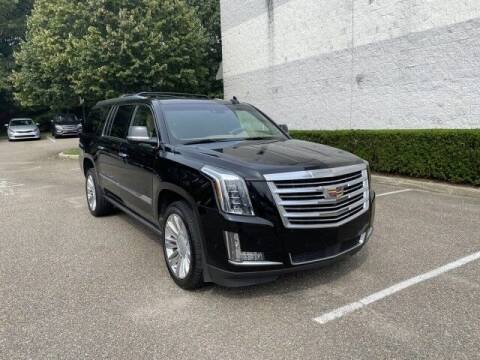 2018 Cadillac Escalade ESV for sale at Select Auto in Smithtown NY