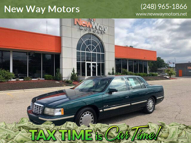 1997 Cadillac DeVille for sale at New Way Motors in Ferndale MI